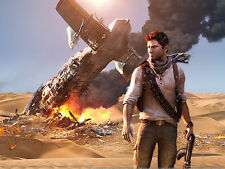 UNCHARTED 3 A4 260gsm poster stampa