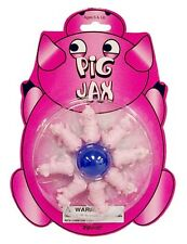 PIG JAX game mania Rubber Ball pass the Jacks toy doll house miniature pigs NEW