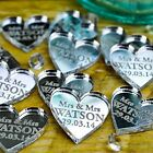 Personalised Wedding Table Centerpieces Scatter Decorations Place Mrs & Mrs Gay