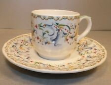 NEW  After Dinner Cup & Saucer Toscana Pattern From GIEN