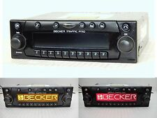 Becker TRAFFIC PRO + AUX-IN SAT di Navigazione Radio CD MERCEDES BMW PORSCHE FERRARI