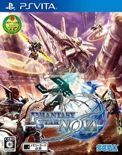 Used PS Vita PSV Phantasy Star Nova Japan Import(Free Shipping)