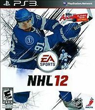 NHL 12 (Sony PlayStation 3, 2011) DISC IS MINT