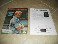 Jack Nicklaus PGA Golf Signed Autograph SI Magazine Cover Photo #3 PSA Certified