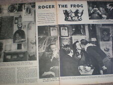 Photo article Roger the Frog restuarant La Grenouille Paris France 1952 My Ref R