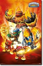 VIDEO GAME POSTER Skylanders Giants Fire