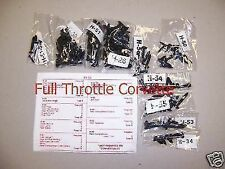 1984 - 1993 Corvette Interior Screw Kit