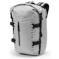 New Oakley Motion 26 Roll Top Backpack Water Resistant Dry Bag Stone 26L $200