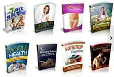 100 Fitness And Health PDF eBooks Free Shipping With Master Resell Rights