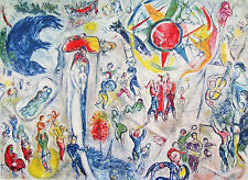 CHAGALL - OVERVIEW OF LIFE - LITHOGRAPH - 1965 - SPECIAL $ 60  !!!