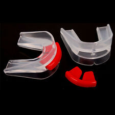 Double Side Sports Boxing Clear Mouth Piece Gum Shield Teeth Guard for Boxing