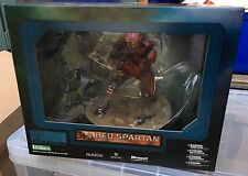 Rare Halo 3 Kotobukiya ArtFX 11 Inch Statue Figure Red Spartan Field of Battle