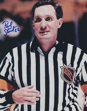 PAUL STEWART Signed NHL REFEREE 8X10 Photo w/COA