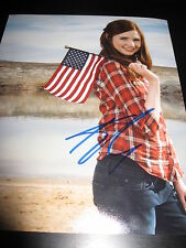KAREN GILLAN SIGNED AUTOGRAPH 8x10 DR WHO PROMO IN PERSON COA AUTO RARE NY D