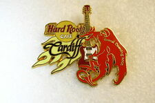 CARDIFF,Hard Rock Cafe Pin,GRAND OPENING *CLOSED* VHTF