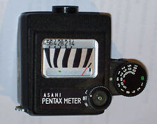 ASAHI PENTAX EXPOSURE CLIP ON METER FOR SV & OTHER MODELS EARLY 1960'S WORKS!