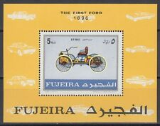 Fujeira 1971 ** Bl.40 A Autos Automobile Cars Ford