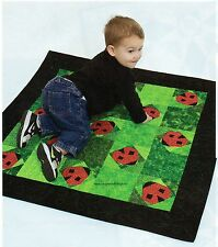 Ladybug Hugs Quilt Pattern Pieced/Paper Pieced DS