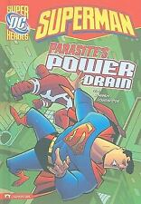 Superman: Parasite's Power Drain (DC Super Heroes)-ExLibrary