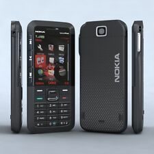 Nokia 5310Xpressmusic Black New Mobile With Nokia Charger, Battery