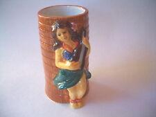 Tiki Mugs Cocktail Tumbler Cup Polynesian Ceramic UKELELE DW160 Hula Girl