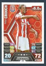 TOPPS MATCH ATTAX 2013-14- #270-STOKE-TOTTENHAM-POMPEY-LIVERPOOL-PETER CROUCH