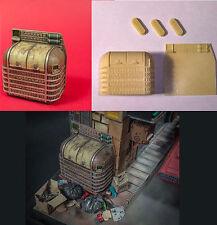 Trash garbage can 1/24 Blade Runner inspired model kit Dump ideal spinner sedan