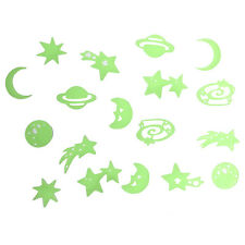 Glow In The Dark Stick On Self Adhesive Decorations For Kids Bedroom - Planets