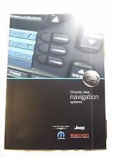 CHRYSLER JEEP NAVIGATION ACCESSORIES BROCHURE 2003 6 PAGES