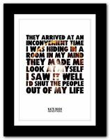 KATE BUSH - Them Heavy People❤ song lyrics poster art print - A1 A2 A3 or A4
