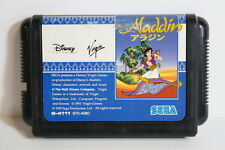 Disney's Aladdin Sega Mega Drive MD Genesis Japan Import US Seller SHIP FAST