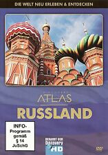 DISCOVERY CHANNEL - ATLAS : RUSSLAND (RUSSIA) / DVD - NEU
