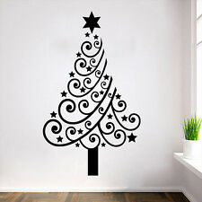 Christmas Tree Wall Stickers Wall Decals DIY Vinyl Sticker Mural Home Decor