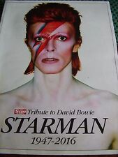 The Sun Starman Tribute Magazine David Bowie 1947-2016