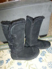 UGG Australia Black Suede Boots size W7