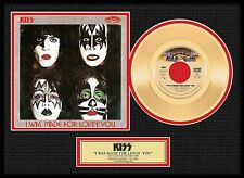 Kiss 'I Was Made for Loving You' Gold 45 Lot 1550584