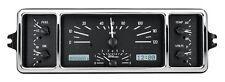 Dakota Digital 39 Chevy Car Analog Dash Gauge System Black Alloy White VHX-39C