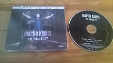 CD Pop Martin Kesici - So What (14 Song) Promo ISLAND sc