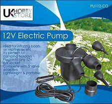 Nouvelle pompe à air électrique rapide voiture 12v plug sauter camping lit airbed LILO airpump