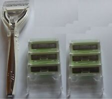 King of Shaves Hyperglide System Razor handle holder and 2 Trays  (6 cartridges)