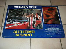 FOTOBUSTA,AUTO CAR, ALL'ULTIMO RESPIRO RICHARD GERE,V.KAPRISKI