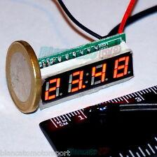 MICRO TERMOMETRO DIGITALE -30~70℃ LED ROSSO NTC termistore auto moto camper kfz