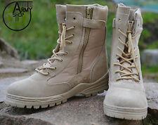 Patriot Army Boots Stiefel Springerstiefel Kampfstiefel Desert Storm beige Gr.44