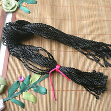 "20pcs 18"" 2mm Black Silk Thread Cord String To European Charm Necklace ED0354"