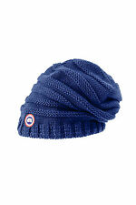 Canada Goose Women's Merino Slouchy Beanie Pacific Blue NWT