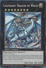 YU-GI-OH CARD: LEGENDARY DRAGON OF WHITE - PRISMATIC SECRET - WSUP-EN051 1st ED