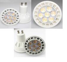 1 AMPOULE LED MAISON GU10 7W A 7 LED SMD 220V - COULEUR BLANC FROID 6000K