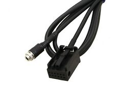 3.5MM Female AUX Audio Adapter Cable For BMW E39 E53 X5 X5M IPOD IPHONE MP3
