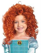 DISNEY MERIDA BRAVE RED WIG COSTUME DRESS UP DG43606