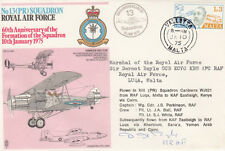 60th Anniv Formation of Sqn Signed Marshal of the RAF Sir Dormot Boyle